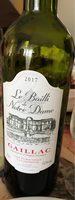 Vin rouge AOC Gaillac Bailli de Notre Dame - Product