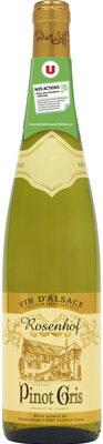 Vin blanc AOP Alsace Pinot gris Rosenhof - Product - fr