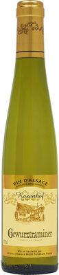 "Alsace AOC blanc Gewurztraminer ""Rosenhof"" - Produit - fr"