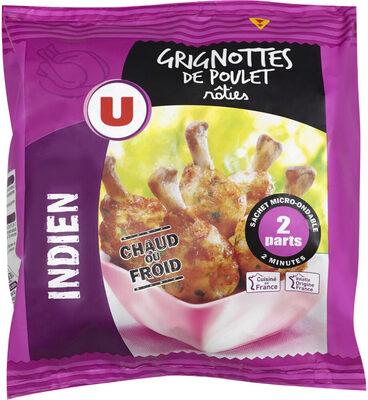 Grignotte de poulet rôtie goût indien - Produit - fr