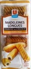 Madeleines longues fourrage au chocolat - Product