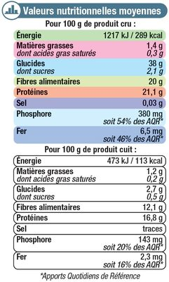 Haricots lingot blanc - 22