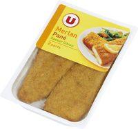 Panés de merlan saveur citron - Product - fr