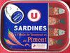 Sardines à l'huile de tournesol et au piment - Product