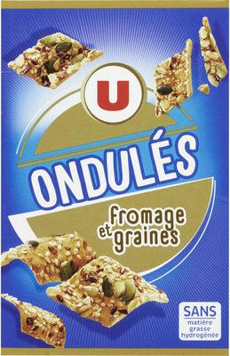 Ondulés fromage et graines - Produit - fr