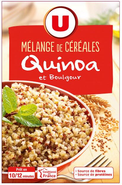 Duo de céréales quinoa et boulgour - Produit - fr