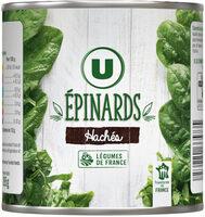 Epinards hachés - Product - fr