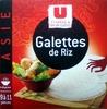 U Cuisines & Découvertes Galettes de riz - Product
