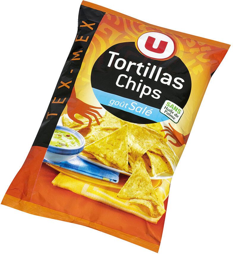 Tortillas Chips goût Salé - Produit