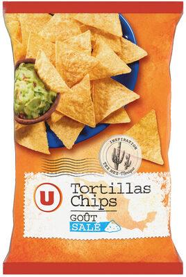 Tortillas Chips goût Salé - Produit - fr