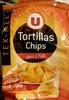 Tortillas chips goût chili - Produit
