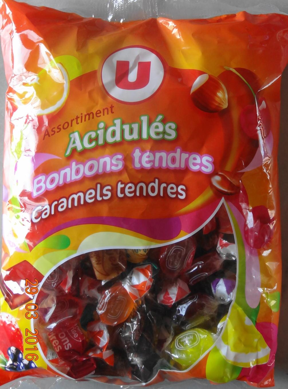"""Acidul""""s Bonbons tendres, Caraels tendres - Product"""