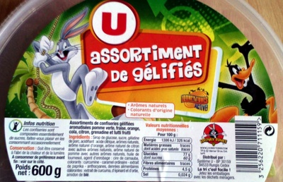 assortiment de gélifiés - Produit - fr