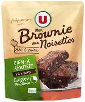Préparation Brownies aux éclats de noisettes - Product