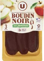 Boudin noir pommes - Produit - fr