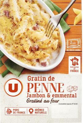 Gratin de penne au jambon - Produit - fr