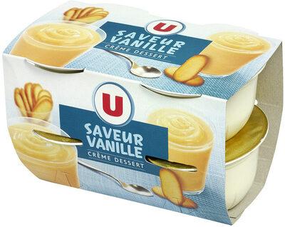 Crème dessert à la vanille - Produit