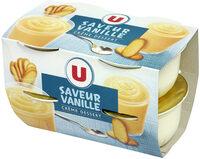 Crème dessert à la vanille - Produit - fr