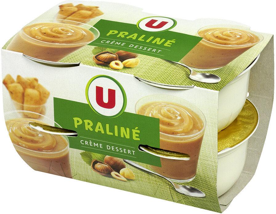 Crème dessert praliné - Produit