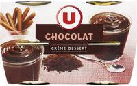 Crème dessert saveur chocolat - Produit - fr