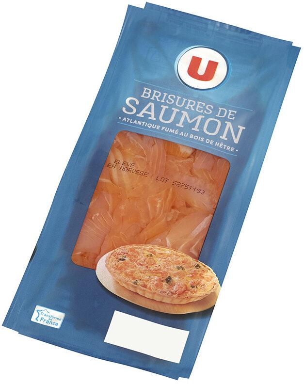 Brisures de saumon fumé - Product