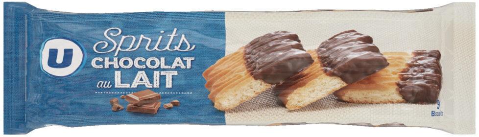 Sprits au chocolat au lait - Product - fr