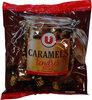 Caramels enrobés au chocolat noir - Produit