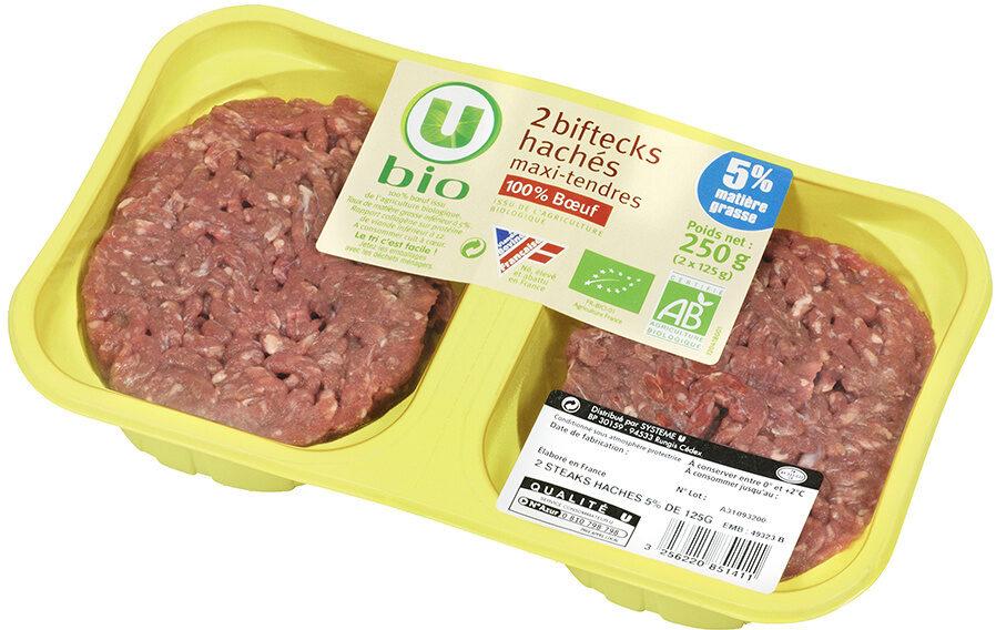 Steaks  hachés - Produit - fr