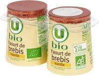 Yaourts bio au lait de brebis saveur vanille - Product