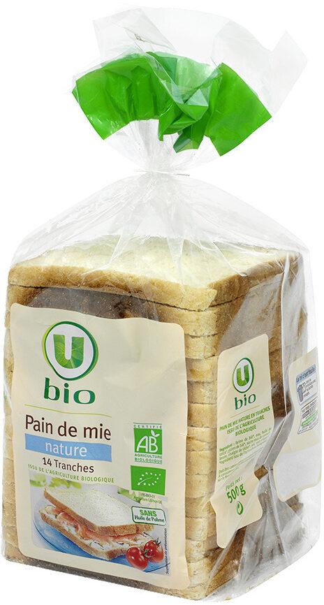 Pain de mie spécial sandwich nature grandes tranches - Product - fr