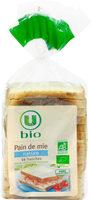 Pain de mie spécial sandwich nature grandes tranches - Prodotto - fr