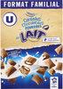Céréales chocolatées fourrées au lait - Produit