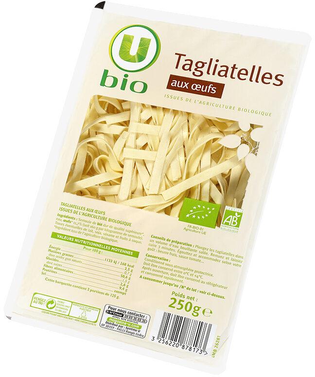 Tagliatelles aux oeufs bio - Product