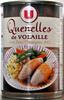 Quenelles de volaille - sauce champignons - Product