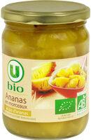 Ananas en morceaux au jus d'ananas - Produit - fr