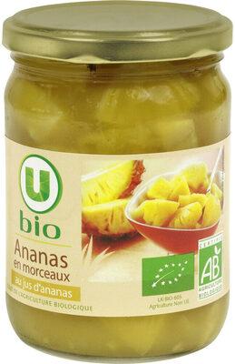 Ananas en morceaux au jus d'ananas Bio - Product - fr