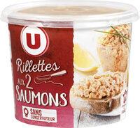 Rillettes aux deux saumons - Produit - fr