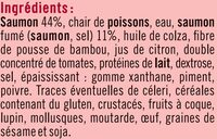 Rillettes aux deux saumons - Ingrédients - fr