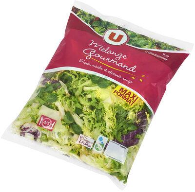 Salade Mélange Gourmand (frisée,mâche,chicorée rouge) - Produit - fr