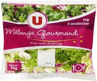 Salade Mélange Gourmand (frisée,mâche,chicorée rouge) - Product - fr
