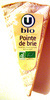 Pointe de brie Bio (21 % MG) - Product