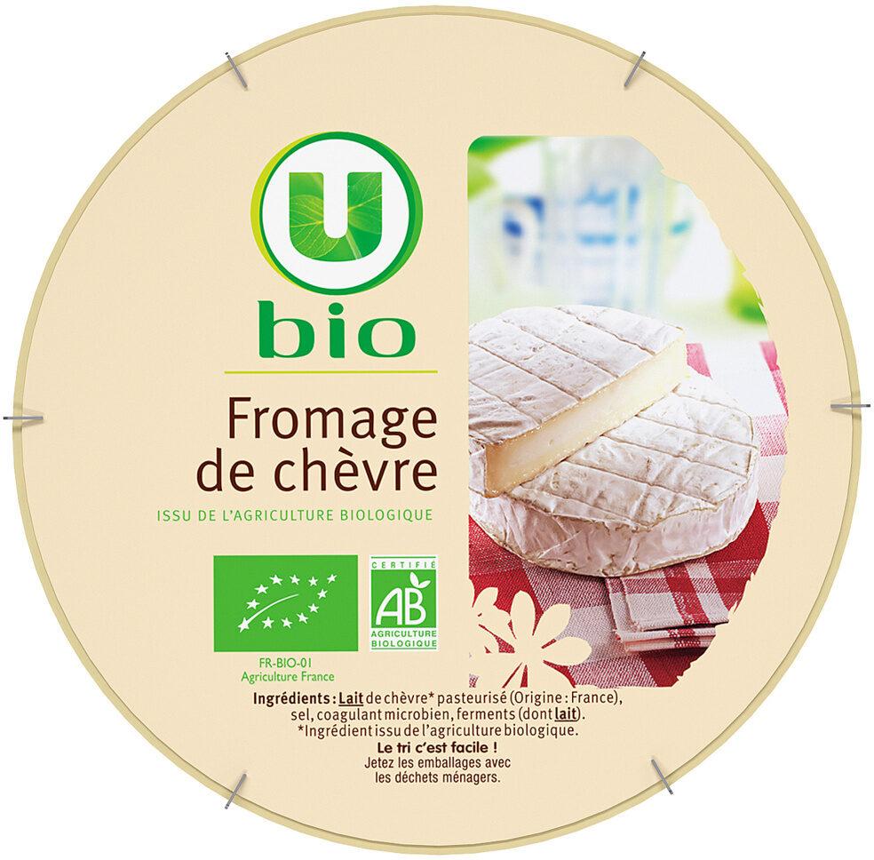 Fromage de chèvre lait pasteurisé 19,8% de matière grasse Bio - Produit - fr