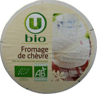 Fromage de chèvre lait pasteurisé 19,8% de matière grasse Bio - Product - fr