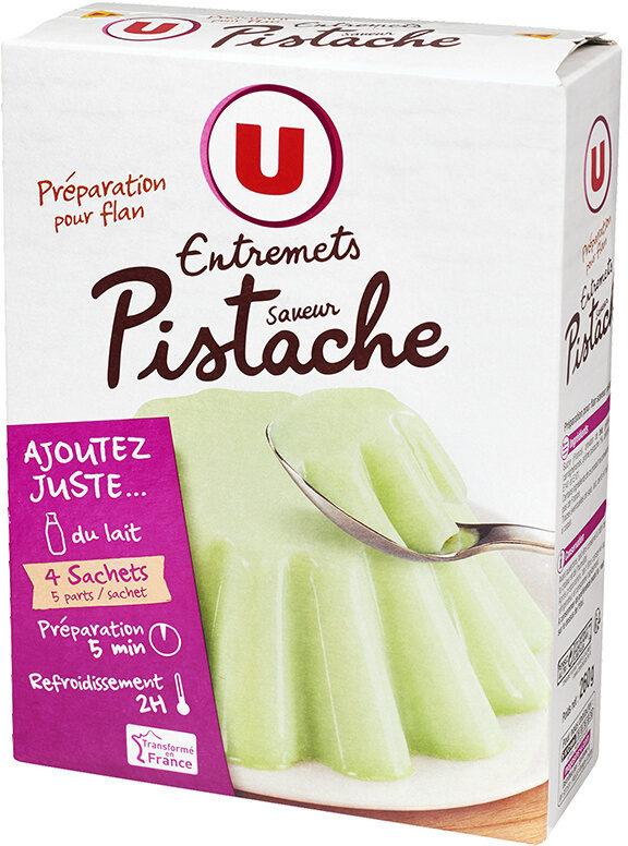 Les entremets préparation pour flan pistache - Product - fr