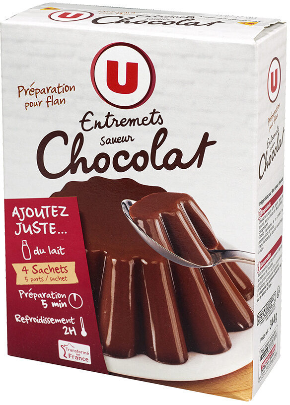 Les entremets préparation pour flan chocolat - Product
