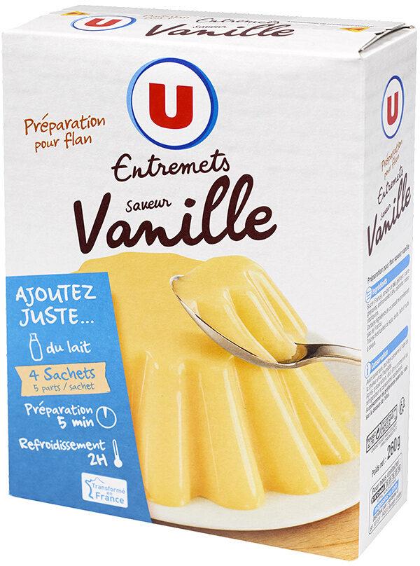 Les entremets préparation pour flan vanille - Product