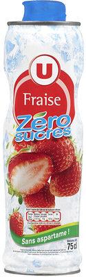 Sirop à la grenadine 0% de sucre sans aspartame - Product