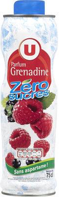 Sirop à la grenadine 0% de sucre sans aspartame - Produit - fr