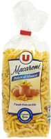 Pâtes aux oeufs macaroni IGP d'Alsace - Product