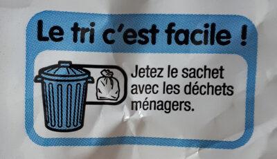 Petits nids IGP d'Alsace aux oeufs - Instruction de recyclage et/ou informations d'emballage - fr